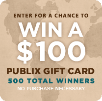 enter thumb New Publix Sweepstakes Starts Tomorrow   Win $100 Publix Gift Card