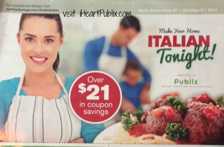 make it italian tonight Make Your Home Italian Tonight Publix Coupons Now Available To Print