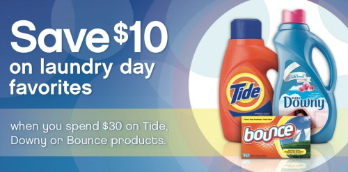 pg rebate1 P&G Laundry Day Rebate   Earn A $10 Visa Gift Card