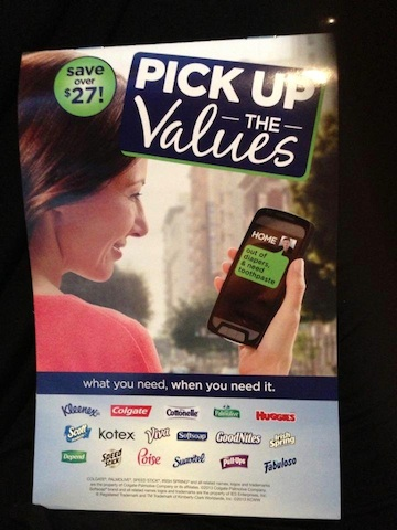 pick up the values New Booklet At Publix   Pick Up The Values