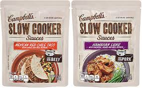 slow cooker sauce campbell's