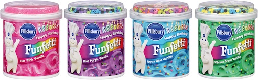 funfetti frosting 2 Great Deal On Pillsbury Cake Mix & Frosting At Publix   Make Funfetti Cupcakes!