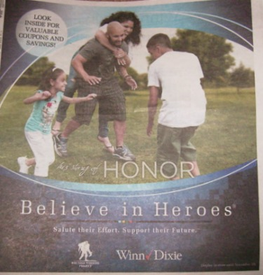 wnn dixie believe in heroes New Coupons In Believe in Heroes Flyer (Found At WD)