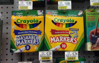 graphic relating to Crayola Printable Coupons identified as Crayola Washable Markers Printable Coupon + Publix Pricing