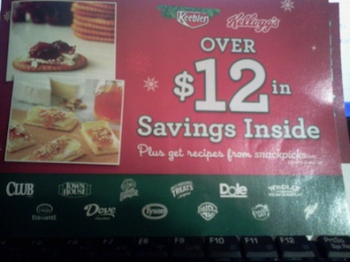 keebler booklet New Booklet   Keebler/Kelloggs Over $12 in Savings Inside