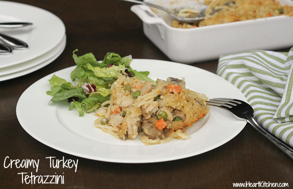 turkey tetrazzini 2 Publix Super Meal   Creamy Turkey Tetrazzini