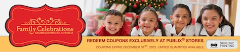 publix booklet family celebrations Family Celebrations Booklet   Tons Of New Publix Coupons (Printable Too!)