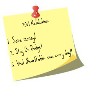 2014 resolutions Reader Spotlight 1/16   Your Couponing Resolutions Part II
