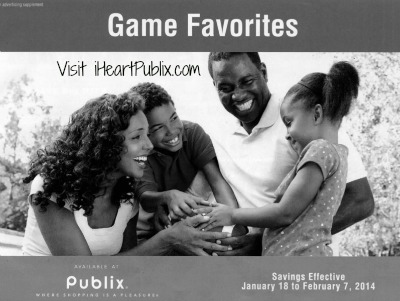 Game Day Favorites Publix Grocery Advantage Buy Flyer Super Deals (1/18 to 2/7)