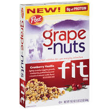 grape nuts fit