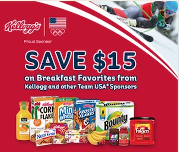 kelloggs team breakfast Look For Specially Marked Kelloggs Products For $15 In Coupons