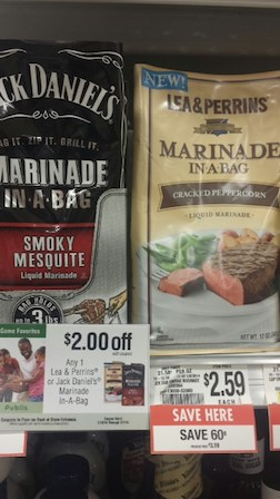 lea perrins Great Deal On Lea & Perrins And Jack Daniel's Marinade In A Bag