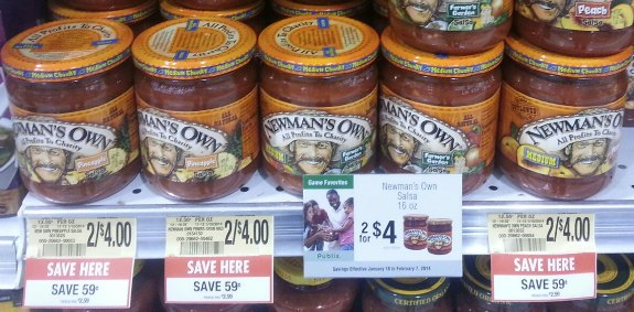 newmans own salsa Newmans Own Deals At Publix