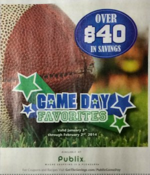 publix game day Sunday Coupon Preview For 1/5   Up To Five Inserts (Including Publix Coupons)