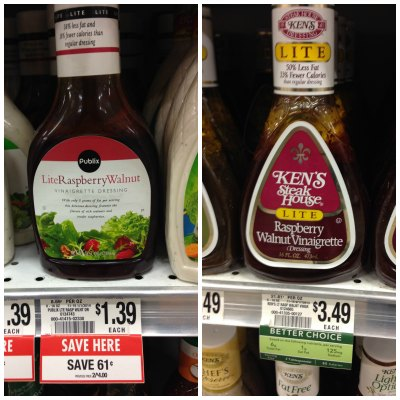 publix salad dressing Try Me Tuesday   Publix Lite Raspberry Walnut Vinaigrette