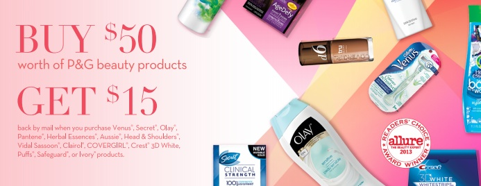 PG New P&G Best of Beauty Rebate