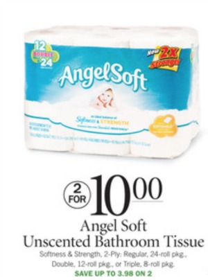 2 Angel Soft Coupon For Publix Sale