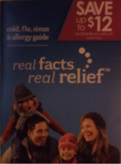 cold flu booklet New Booklet At Publix   Real Facts Real Relief