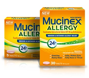 mucinex allergy Mucinex® Allergy To Relieve Your Worst Allergy Symptoms – Get Great Relief & $3 Savings!