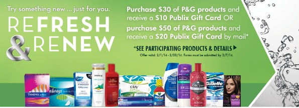 refresh renew Refresh & Renew Rebate At Publix + 2 Readers Win Olay Prize Bundle (Worth Over $50)