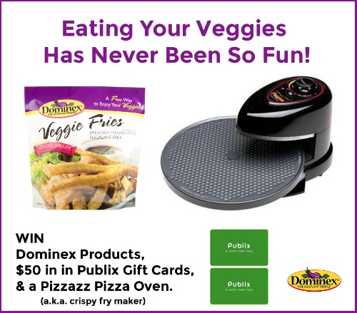 DNF IHeartPublixFries1 Dominex Veggie Fries   Delicious & Better for You (+ One Reader Wins An Awesome Prize Pack)