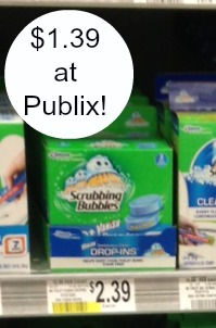 Scrubb Scrubbing Bubbles Vanish Drop Ins As Low As $1.39 At Publix