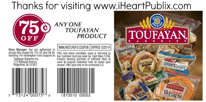 Toufayan final Share A Recipe Using Toufayan For A Chance To Win A $100 Publix Gift Card!