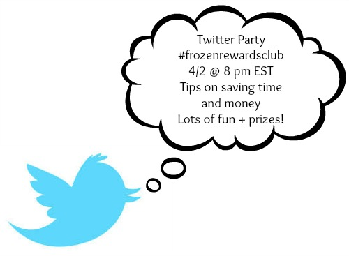 conagra twitter #frozenrewardsclub Twitter Party Is Tonight (Dont Forget To RSVP!)