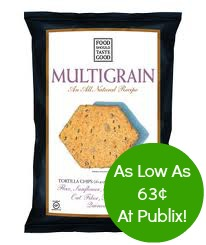 food should taste Food Should Taste Good Chips As Low As 63¢ At Publix