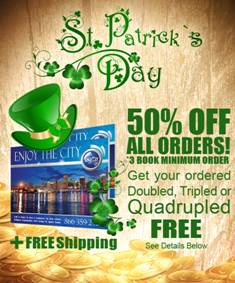 image001 Enjoy The City St. Patricks Day Promo (50% Off + Bonuses)
