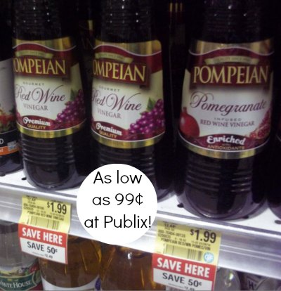 pompeian vinegar Pompeian Vinegar As Low As 99¢ At Publix