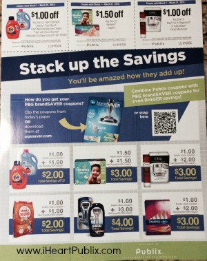 stack up savings Publix Stack Up The Savings Publix Coupon Available