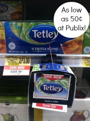 tetley publix Tetley Tea Coupons   Get Tea As Low As 50¢ At Publix