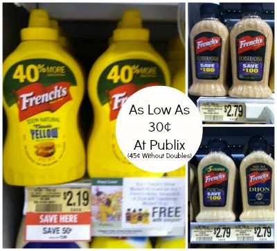 French Frenchs Mustard Deal At Publix