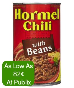 Hormel Hormel Chili Coupon Reset   More Cheap Chili At Publix
