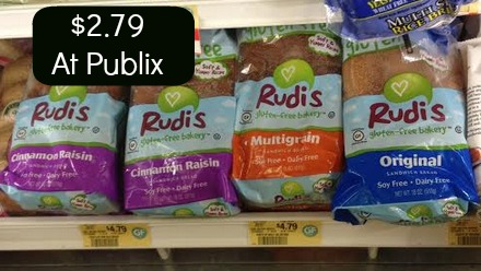 Rudi Rudis Gluten Free Bread Deal At Publix