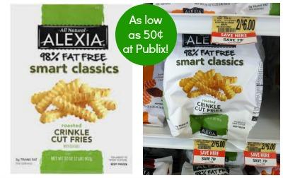 alexia publix Alexia Smart Classics Fries As Low As 50¢ At Publix