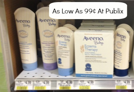 aveeno Aveeno Baby Products Included In Publix Sale   As Low As 99¢!