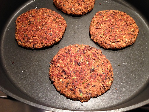 burgers bean Black Bean Burger Recipe