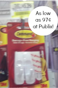 command publix Huge Discount On Command Products At Publix   As Low As 97¢