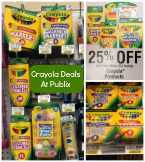 crayola deals Crayola Deals At Publix   Perfect For Easter Baskets!