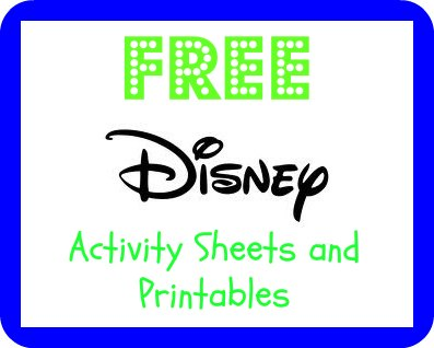 disney printables Frugal Family Fun For Less   Free Disney Printables for Kids