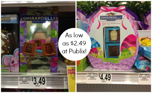ghirardelli publix Nice Deal On Ghirardelli Easter Chocolates At Publix