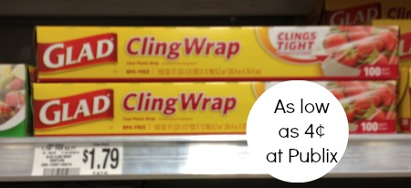 glad publix Glad ClingWrap Just 4¢ At Publix (Starting Saturday)