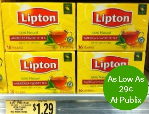 lipton Lipton Coupon Is Back   More Cheap Tea At Publix