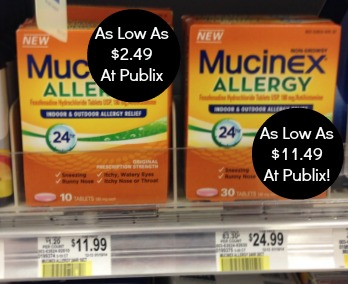 mucinex Unadvertised Publix Deals   The Happy Report 4/2