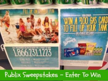 publix sweepstakes New Publix Sweepstakes   Win Gas Cards & Publix Gift Cards