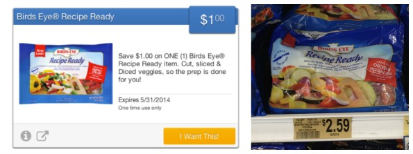 recipe ready publix Birds Eye Recipe Ready As Low As 59¢ At Publix