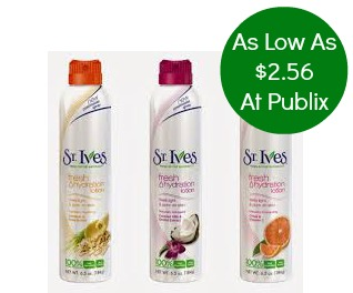 st ives St Ives Printable Coupons Reset + Publix Deal