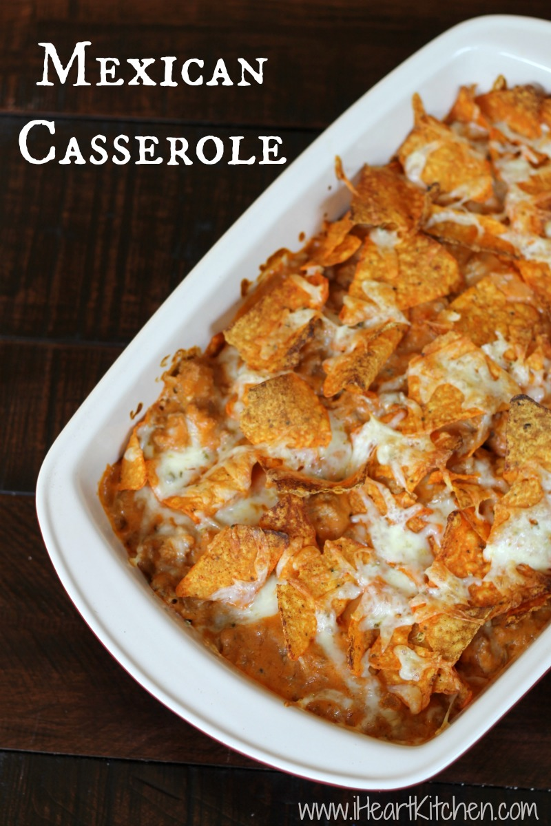 Throw Together Mexican Casserole Recipe — Dishmaps